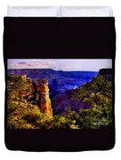 Monument To Grand Canyon  Duvet Cover
