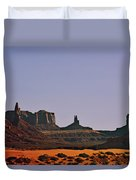 Monument Valley - An Iconic Landmark Duvet Cover by Christine Till