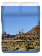 Monument Valley Arizona State Usa Duvet Cover