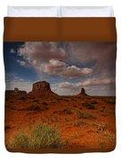 Monument Valley Desert Duvet Cover