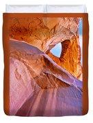 Monument Valley - Eye Of The Sun Duvet Cover