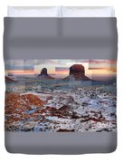Monument Valley Mittens Duvet Cover