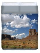 Monument Valley Navajo Tribal Park Duvet Cover