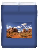 Monument Valley - North Window Overlook  Duvet Cover