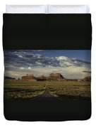 Monument Valley Panorama Duvet Cover