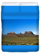 Monument Valley Road Duvet Cover