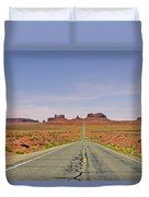 Monument Valley - The Classic View Duvet Cover