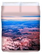 Monument Valley To Be Seen Only If You Were A Bird Duvet Cover