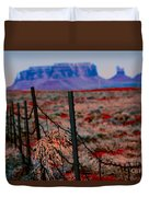 Monument Valley -utah V13 Duvet Cover