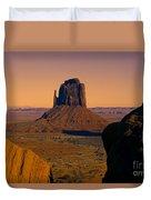 Monument Valley -utah V15 Duvet Cover