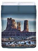 Monument Valley -utah V17 Duvet Cover