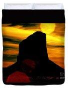 Monument Valley -utah V2 Duvet Cover
