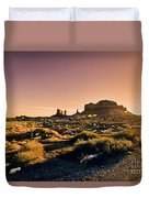 Monument Valley -utah V7 Duvet Cover