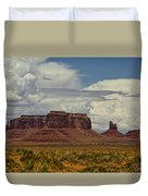 Monumental Clouds  Duvet Cover