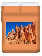 Monuments Of Time Duvet Cover