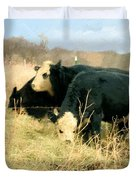 Moo Cow Munch Duvet Cover