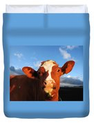 Moo Don't Say Cow Duvet Cover