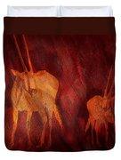 Moods Of Africa - Gazelle Duvet Cover