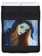 Moody Blue Duvet Cover