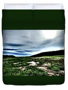 Moody Mother  Duvet Cover