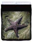 Moody Starfish I Duvet Cover