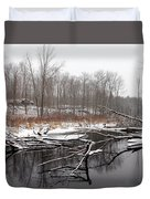 Winter's Moods Duvet Cover