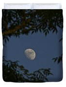 Moon Among The Branches Duvet Cover