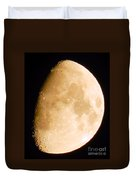 Moon Craters Galore Duvet Cover