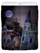 Moon Drops Duvet Cover