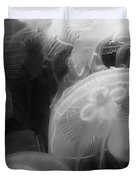 Moon Jellyfish Duvet Cover