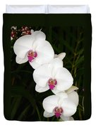 Moon Orchid With Purple Center Duvet Cover