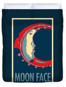 Moon Phase In Hope Duvet Cover