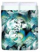 Moonlight Fish Duvet Cover