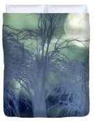 Moonlight Forest Duvet Cover