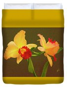 Moonlight Lady Orchid Duvet Cover
