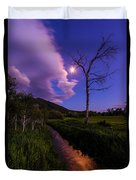 Moonlight Meadow Duvet Cover by Chad Dutson