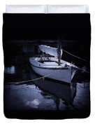 Moonlight Sail Duvet Cover by Amy Weiss