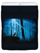 Moonlight Serenade Duvet Cover by C Steele