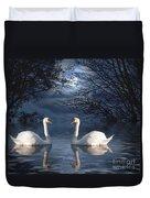 Moonlight Swim Duvet Cover