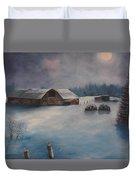 Moonlight Whispers Duvet Cover