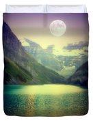 Moonlit Encounter Duvet Cover