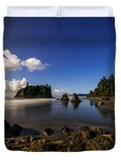 Moonlit Ruby Duvet Cover