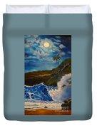 Moonlit Wave 11 Duvet Cover