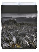 Moonscape  Duvet Cover