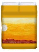 Moonshine Original Painting Sold Duvet Cover