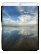 Moonstone Beach Reflections Duvet Cover
