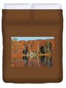 Moore State Park Autumn I Duvet Cover
