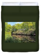 Moore State Park Water Reflections Duvet Cover