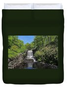 Moore State Park Waterfall 3 Duvet Cover