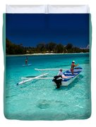 Moorea Lagoon No 12 Duvet Cover